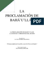La Proclamacion de Bahaullah