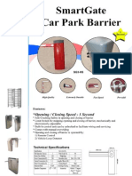 Smart Gate Barrier for security