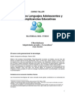 Material Curso Taller - Nuevos Lenguajes Adolescentes