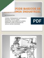 Principios Basicos de Ergonomia Industrial