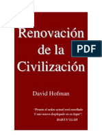 Renovacion de La Civilizacion