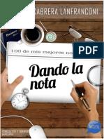 Mariano Cabrera Lanfranconi - Dando La Nota