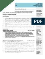 lovstad resume march 2014