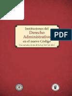 Instituciones Del Derecho Administrativo