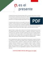 Convocatoria Agentes de Cambio 2014 Nicaragua