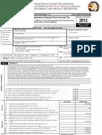 Think Freely Media 2012 IRS 990