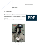 MODULE 1 - The Drill Press
