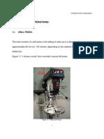 MODULE 1 - The Drill Press