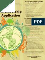 2013 Student Member Application (ASHRAE)