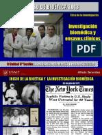 1)Bioetica y Los Ensayos Clinicos