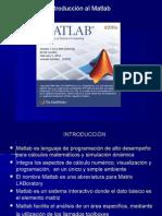 Introduccion Al Matlab 2013