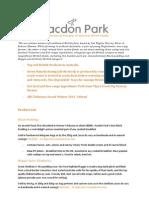 Pacdon Park Product Details 2014-1