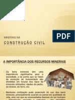 Minerais na Construção civil