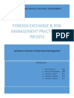 Foreign Exchange Exposure and Risk Management Practices in Infosys