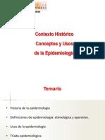 Epidemiologia - Contexto Historico