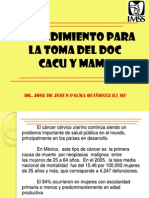Toma de Doc Cc y c.mama Dr Palma