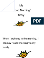 Saying Good Morning Social Story