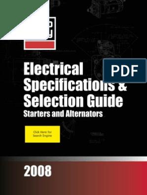 [SCHEMATICS_4CA]  0008 Guia Seleccion Delco Remy   Bearing (Mechanical)   Amplifier   Delco Remy Alternator Wiring Diagram For 31si      Scribd