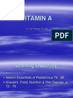 Lecture 9 Vit a, Iodine, Iron Deficiency