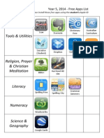 Free Apps List - Updated
