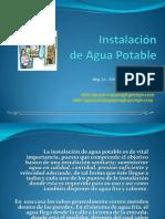 Instalación de Agua Potable