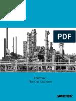 Ametek Flue Gas Analyser