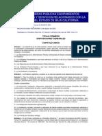 Ley de Obras BajaCalifornia