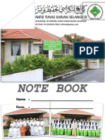 Cover Note Book