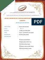 Finanzas Internaciones Tarea Grupal