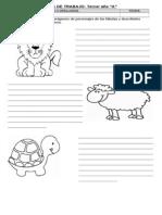 Guia de Trabajo Lenguaje Descripciones Adjetivos