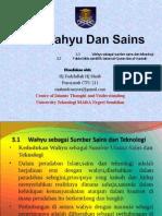Wahyu Dan Sains