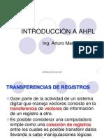 INTRODUCCIÓN A AHPL