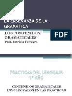 CONTENIDOS GRAMATICALES
