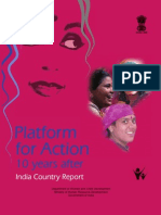 Platform for Action Report on Indian Women