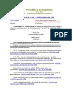 Imposto sobre Importação (LEGISLAÇÃO ESPECÍFICA)
