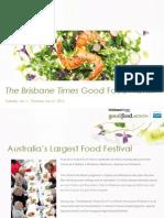 Brisbane Times Good Food Month Category Information 2014