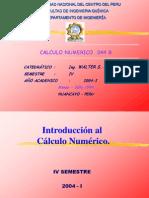 Introduc Al Calc Numerico 2004