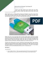 Membuat Bootable USB Flash Disk Untuk Windows 7 Dan Windows XP