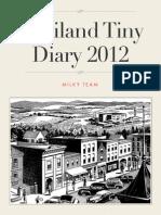 Thailand Tiny Diary 2012