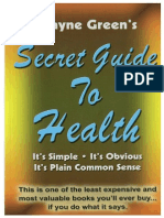 Wayne Green's Secret Guide to Health