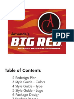 Big Red - Product Redesign Workbook Final