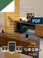 Fx5051 Sell Sheet