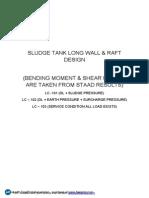 Sludge Tank-Design Calc Report