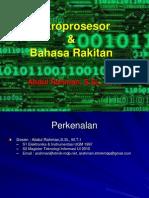 1_MIkroprosesor Dan Bahasa Rakitan