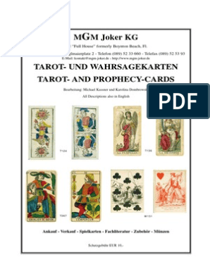 inkl Tarot Karten legen Tarotkarten Anleitung Hexenkult Tarot