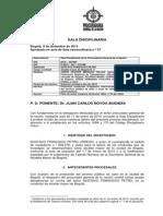 FALLO PROCURADURIA CONTRA GUSTAVO PETRO. www.AbogadosIceda.com - DESTITUCION E INHABILIDAD