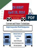 Tech Night 2014 Flyer