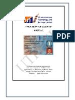 Pan Card 1 Pan Card Utiitsl Psa Manual