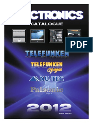 Telefunken Catalogue 2012_web | High Definition Television