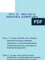 UD4 El Agua Como Materia Prima